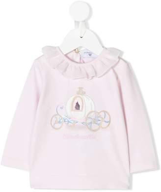c09469f3d ... MonnaLisa Cinderella carriage print T-shirt