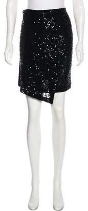 Donna Karan Sequined Wrap Skirt