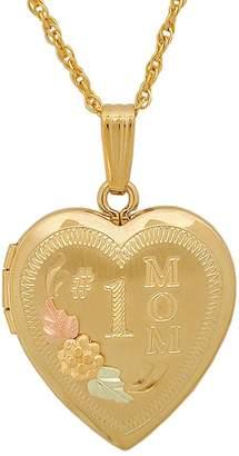 Black Hills #1 Mom Locket, 10K/12K Gold