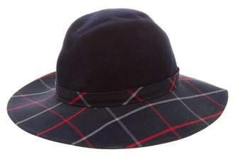 Burberry Felt Check Hat