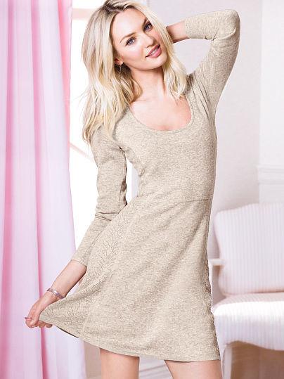 Victoria's Secret The Pointelle Dress
