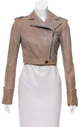 Diane von Furstenberg Alphie Leather Jacket