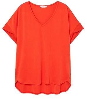 Violeta BY MANGO Modal t-shirt