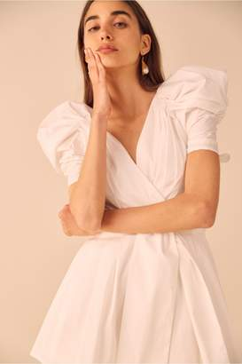 C/Meo Collective VICES PLAYSUIT white