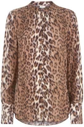 Joie Tariana Leopard Print Shirt