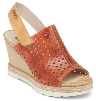 PIKOLINOS Bali Leather Wedge Sandal