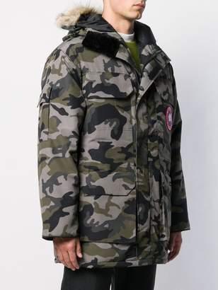 Canada Goose camo print jacket