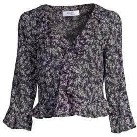 Bailey 44 Extracariclar Floral Peplum Top