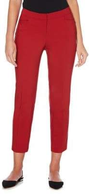 Rafaella Petite Cropped Tapered Leg Trousers