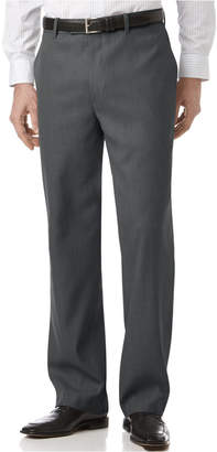 Perry Ellis Portfolio Classic Fit Flat Front Sharkskin Men's Dress Pants