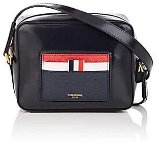 Thom Browne Women's Leather Crossbody Bag - Navy