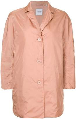 Aspesi button-down fitted coat
