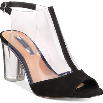 INC International Concepts I.n.c. Women's Kelisin Block Heel Dress Sandals, Created for Macy's Women's Shoes