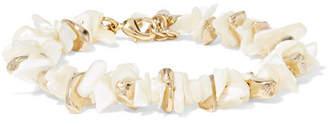 Rosantica Gold-tone Mother-of-pearl Bracelet