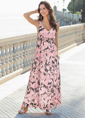 Together Printed Maxi Dress