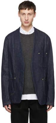 Maison Margiela Indigo Minimal Denim Jacket