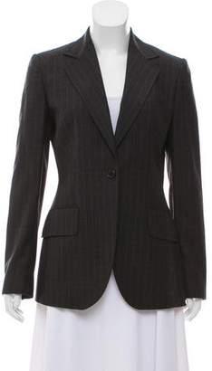 Dolce & Gabbana Wool Pinstripe Blazer