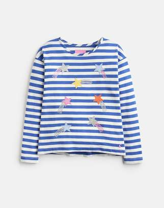 Joules Cora APPLIQUE JERSEY TOP 3-12yr