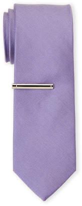 Calvin Klein Solid Skinny Tie
