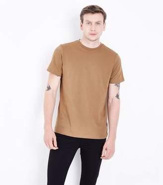 New Look Camel Crew Neck T-Shirt