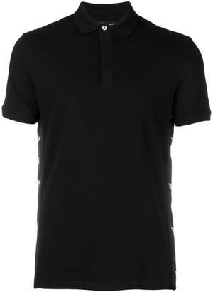 Emporio Armani logo sided polo shirt