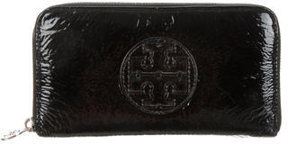Tory Burch Tory Burch Patent Leather Logo Wallet