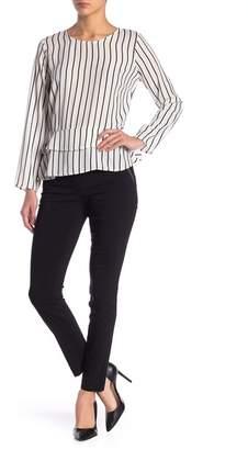Leighton Contrast Trim Skinny Pants