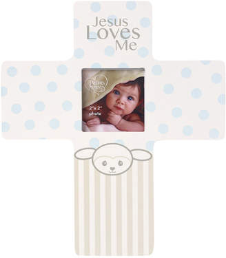 Precious Moments Precious Lamb Jesus Loves Me Cross Photo Frame, Boy