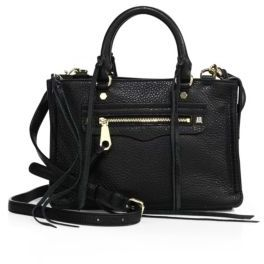 Rebecca Minkoff Micro Regan Leather Satchel $225 thestylecure.com