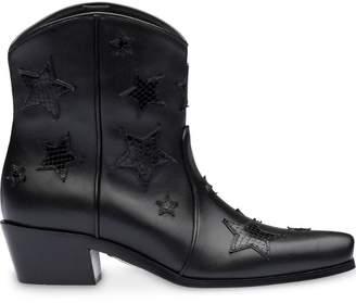 0aaa6f9e249f Miu Miu star embellished cowboy boots
