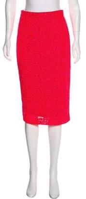A.L.C. Floral Print Knee-Length Skirt