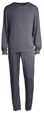 Emporio Armani Two-Piece Pajama Set