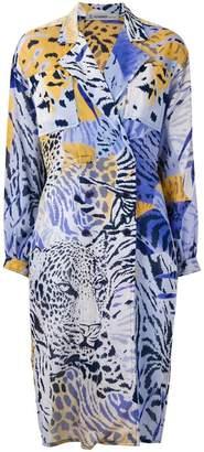 Jean Louis Scherrer Pre-Owned leopard print jacket