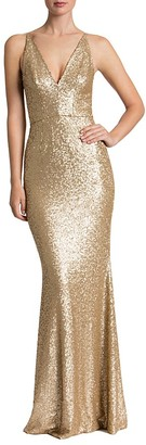 Dress the Population Sequin Gown $308 thestylecure.com