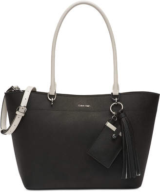 Calvin Klein Susan Leather Tote