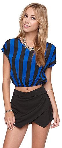 Kirra Banded Bottom Shirt