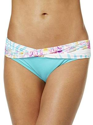 CoCo Reef Women's Bikini Bottom Swimsuit with Banding Detail
