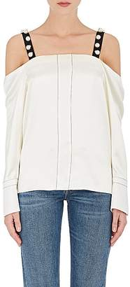 3.1 Phillip Lim Women's Embellished Silk Top