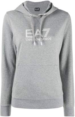 Emporio Armani Ea7 kangaroo pocket hoodie