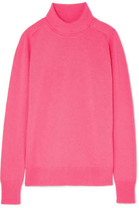 Victoria Beckham Cashmere-blend Turtleneck Sweater - Pink