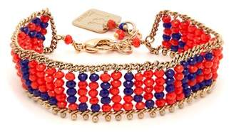 Rosantica By Michela Panero - Love Beaded Bracelet - Womens - Orange