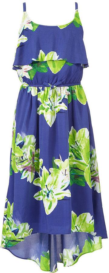 DKNY Girls Dress, Girls High-Low Paradise Dress