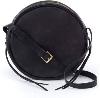 Hobo Groove Calfskin Leather Crossbody Bag