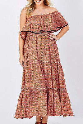 Talisman Designs NEW Womens Maxi Dresses Senorita Dress Size L Isla - Dresses