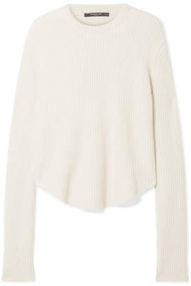 Derek Lam Oversized Ribbed Cashmere Sweater - Ivory