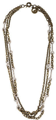 Giles & Brother Multistrand Chain Necklace $175 thestylecure.com