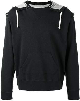 Maison Margiela drawstring hoodie