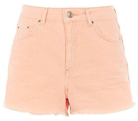 TopshopTopshop Moto neon mom shorts