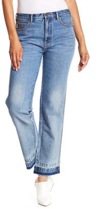 Marc Jacobs Relaxed Raw Hem Jeans