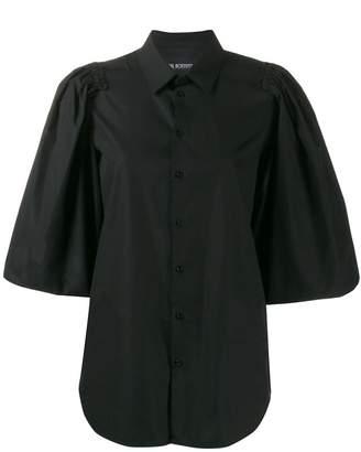 Neil Barrett ruffle sleeve blouse